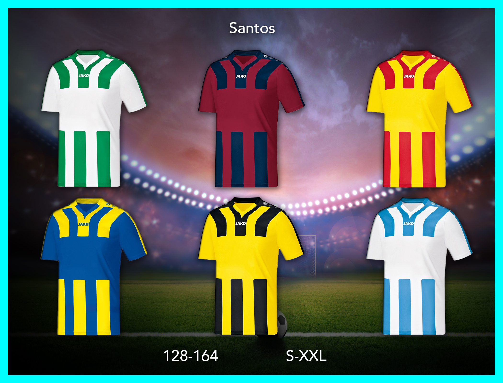 jalkapallopaita santos 2