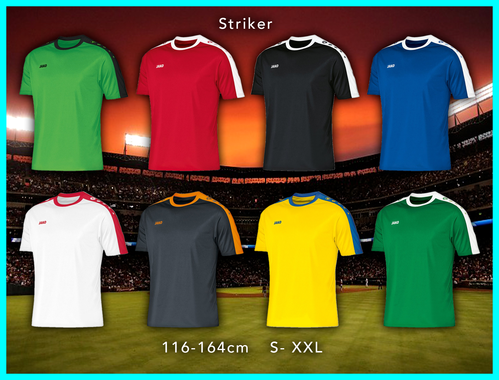 jalkapallopaita striker 1